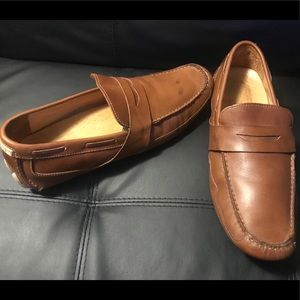 Sperry golden edition leather shoes